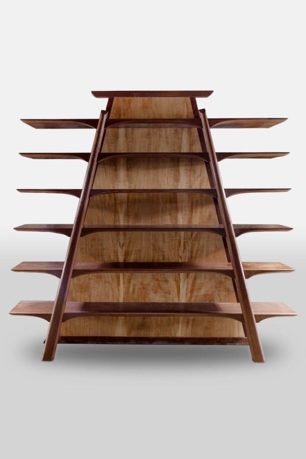 wooden bookshelf design
