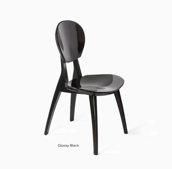 Glossy Black Sonus Chair