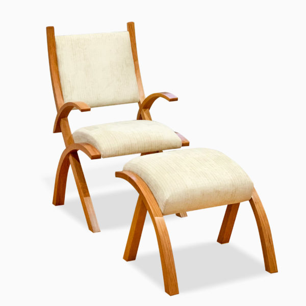 Herron Chair and Footstool
