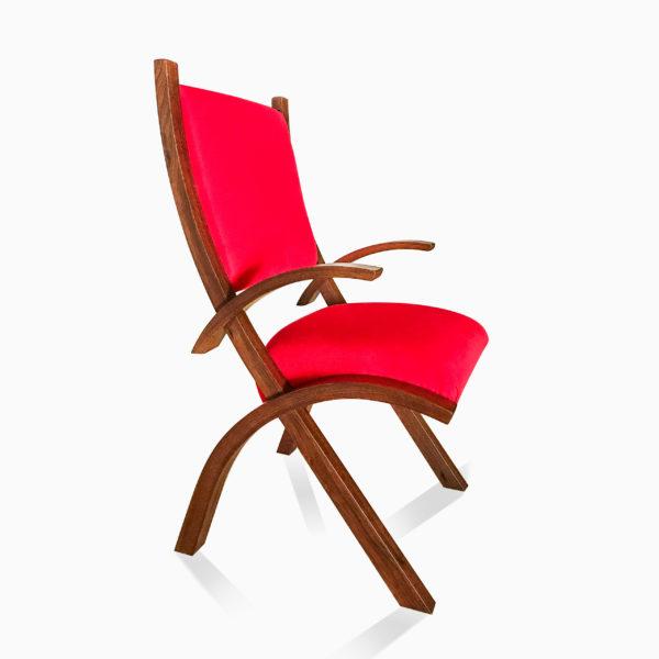 Red Herron Arm Chair 3