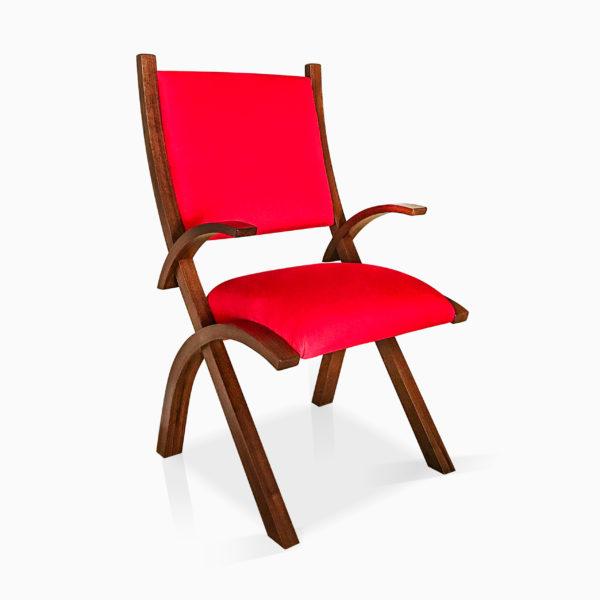 Red Herron Arm Chair1