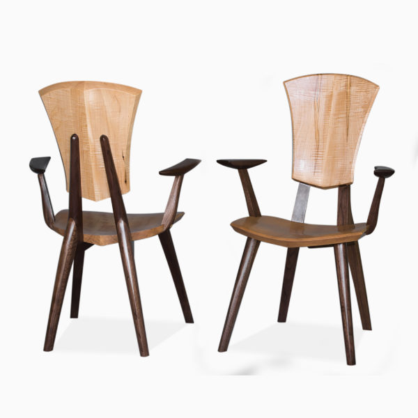 Two Grand Lily Armchairs